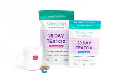 SkinnyMint 28 Day Ultimate Teatox / RRP - £40
