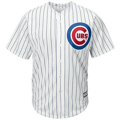 Mens Xl Chicago Cubs Majestic Replica Cool Base Home Jersey With Baez 9 m215