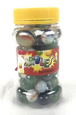 Vintage Marbles New Bulk Lot Of 60 Cats Eyes And More Toyman