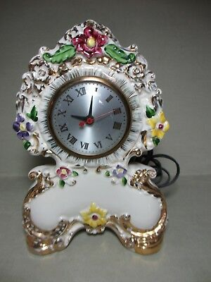 Clock for Parts or Repair American Beauti-Lamp Non Working Sessions Movement