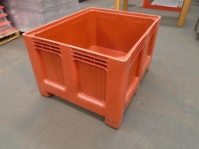 Pallet Box  - Big Box Dolav  - Heavy Duty Commercial Container 1200X1000X750Mm
