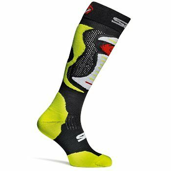 Sidi Faenza Fluo Motorcycle Motorbike Socks Yellow