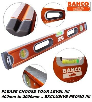 Bahco 466 Series Professional Spirit Level 400mm To 2000mm JUST CHOOSE YOUR SIZE
