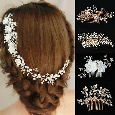 Party Barrettes Wedding Jewelry Bridal Headband Hair Clip Hair Comb Accessories