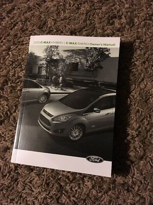 2015 FORD C-MAX HYBRID ENERGI OWNERS MANUAL Free Shipping With Tracking