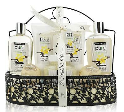 PURE Spa Gift Basket for Men & Women. Gift with Lush Bath Bombs, Bubble Bath...