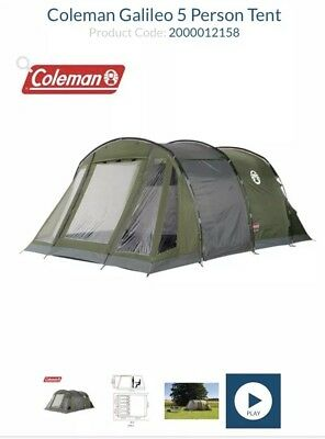 Coleman Galileo 5 Man Tunnel Tent  sc 1 st  PicClick & ROYAL AVIGNON 5 Man Tunnel Tent - £90.00 | PicClick UK