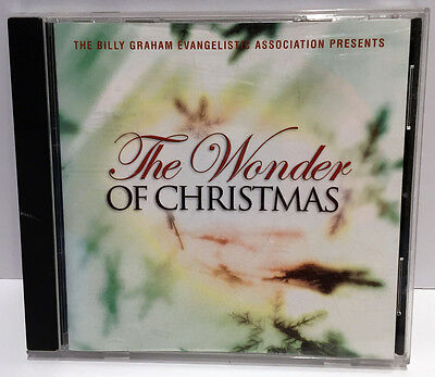 Billy Graham's WONDER OF CHRISTMAS (2002) Holiday CD with Tommy Coomes Band
