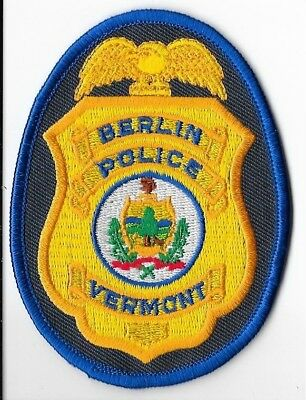 Berlin Police Department, Vermont Breast Patch