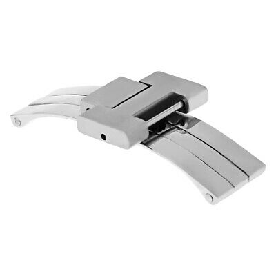 Clasp For 18Mm Band 35Mm Fit Cartier Pasha  Watch Stainless Steel