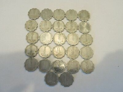 Israel Lot of 27 Coins - 1 One Agora - Agora Series - Holy Land Widow's Mite