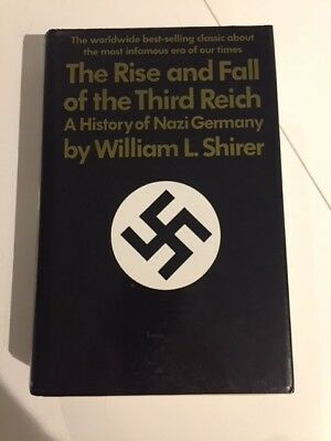Rise & Fall of the Third Reich-William L Shirer,HB,DJ (World War II)