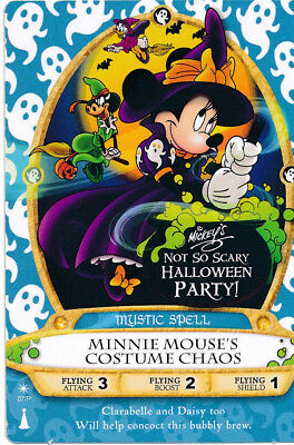 Sorcerer of the Magic Kingdom Card 07P Minnie Mouse's Costume Chaos