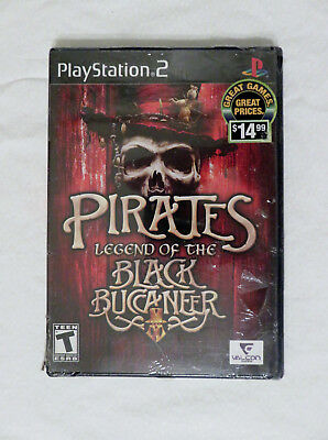 Pirates: Legend of the Black Buccaneer Play Station 2 PS2 Game *NEW*