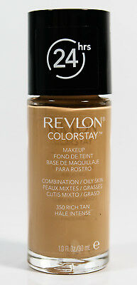 Revlon ColorStay Makeup Liquid Foundation Combination/Oily Skin #350 RICH TAN