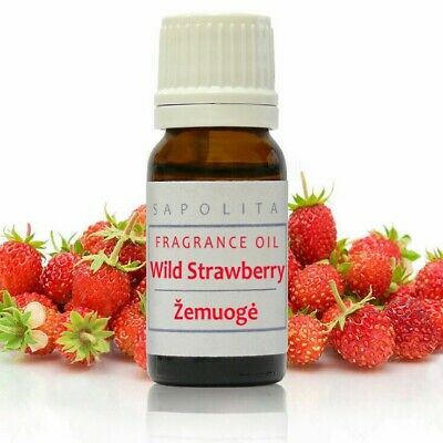 10 ml Wild Strawberry Premium Fragrance Oil for Soap/Candle Highly Concentrated