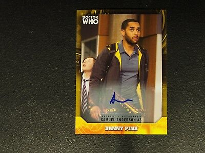 2017 Topps Doctor Who Samuel Anderson Danny Pink AUTO Autograph #08/25 NMMT