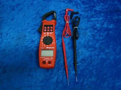 Snap-on True RMS Clamp Meter EEDM575D with Test Leads