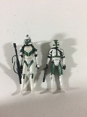 STAR WARS CLONE Wars Commander Gree and Clone Trooper Draa