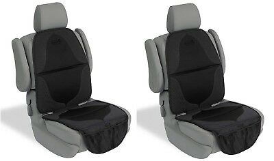 Lot of 2 Pack NEW Summer Infant Elite DuoMat for Car Seat Black Ultra Dense Foam