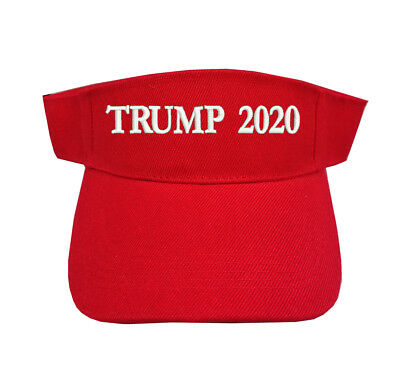 81f37514aeb ... Make America Great Again Red MAGA KAG Cap New.  4.05 Buy It Now 5d 3h.  See Details. Trump 2020 Red Sun Visor Adjustable Type