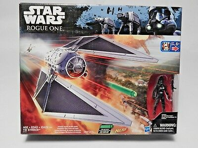 Star Wars Rogue One Nerf imperial Tie Striker Hasbro 2016 tie fighter pilot New
