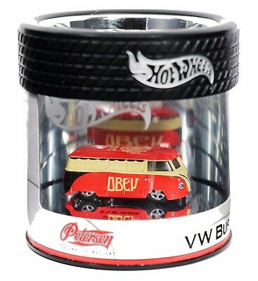 OBEY / SHEPARD FAIREY /  HOT WHEELS / VW Bus Petersen Museum 2006  SIGNED / RARE