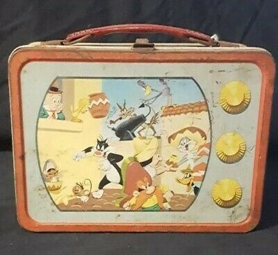 Thermos Brand Looney Tunes Lunchbox American Thermos Product Cartoon Characters