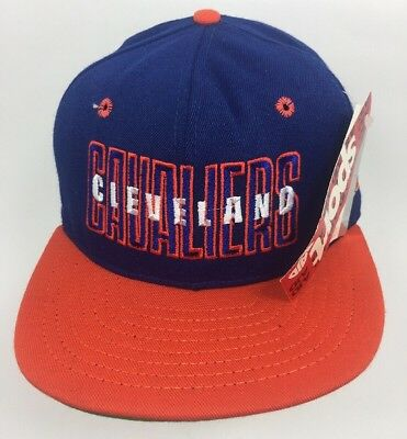 1ed5eb3530f Vintage CLEVELAND CAVALIERS CAVS NBA AJD 90 S HAT CAP SNAPBACK NWT Retro  Hipster
