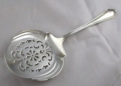 Gorham PLYMOUTH Sterling Silver TOMATO / CUCUMBER Server ORNATE PIERCED 54 Grams