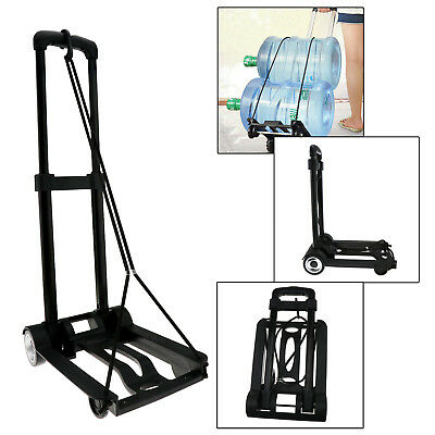 Folding Lightweight Sack Truck Steel Frame Industrial Hand Luggage Trolley Cart