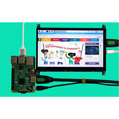 7 inch HDMI touch display USB capacitive touch 1024x600 HD support Raspberry Pi