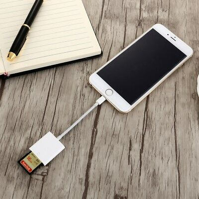 OTG SD Card Reader Digital Camera Reader Adapter Cable for iPhone 5/6/7 and
