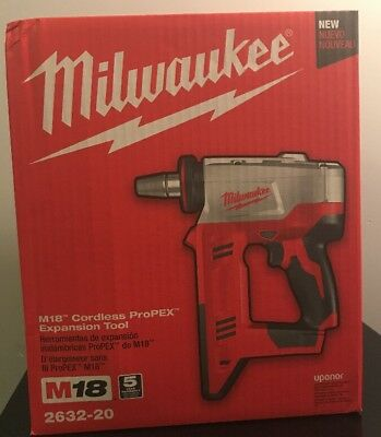 New Milwaukee M18 Cordless Propex Expansion Tool 2632-20 (Bare Tool)