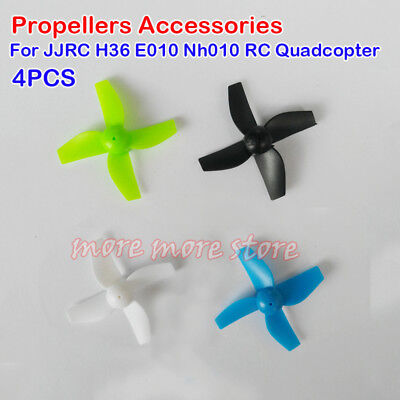 4Pcs Propellers Accessories For JJRC H36 E010 Nh010 RC Quadcopter Spare Parts