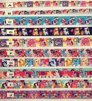 My Little Pony Grosgrain Ribbon & Foe All Designs Sold by 2M - craft-Hair bows