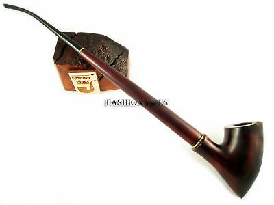 Long HOBBIT Smoking Pipe LOTR CHURCHWARDEN 13''/33cm Wood pipes Handcrafted