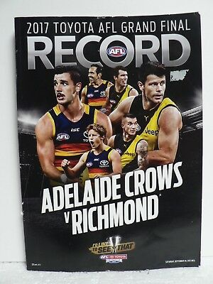 2017 AFL Grand Final Adelaide Crows v Richmond At The MCG