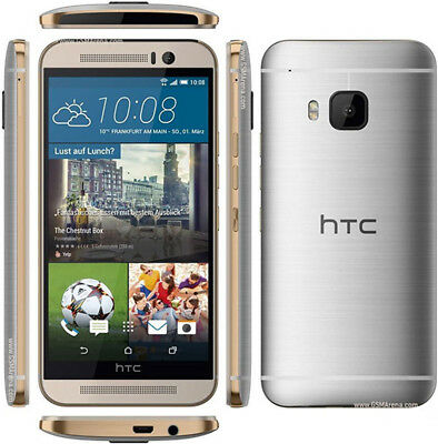 New Original HTC One M9 - 32GB Silver / Gray (Unlocked) Android Smartphone GSM
