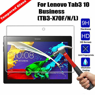 Tempered Glass Flim Screen Protector Fi For Lenovo tab2 A10-70F 2016 / TB-X103F