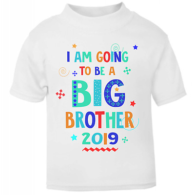 I'm going to be a Big Brother 2019 Toddler T-shirt Boys T-shirt Baby Reveal