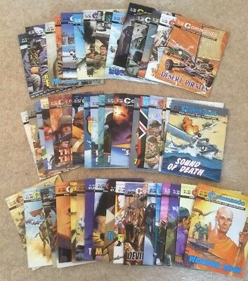 Commando comics 50 comic joblot 3900 range (no.s 3950 - 3999) 50 consecutive run