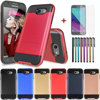 For Samsung Galaxy J7 Sky Pro/J7 2017/Halo/Prime/Perx Shockproof Slim Case Cover
