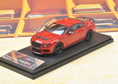 Almost real Bentley Continental GT3-R 2015 Red Color 1/43 Discast Model