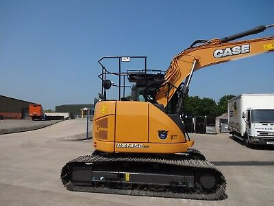 Unused Case Cx145Csr Cabcare Handrails / Free Uk Next Day Delivery Included