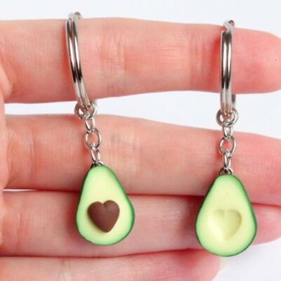 Avocado Keyrings - Best Friend Keychains - BFF Keychain - Food Jewellery