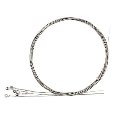 Durable Electric Guitar Strings Bass Stainless Steel Silver Bass Part Accessorie