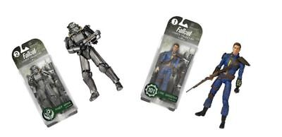 """6"""" Fallout 4 Figure Dolls Power Armor/Lone Wanderer Model Toy Collection PVC"""