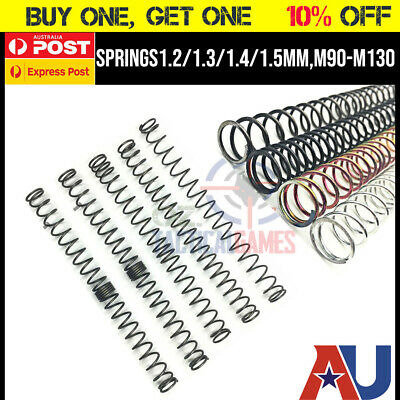 UPGRADE 1.5mm unequal spring ++distance GEL GUN BLASTER mkm2 m4a1 SCAR HK AK47