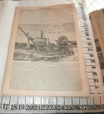 1891 Bennett Amalgamator Company Summit County Colorado Placer Mining Machine